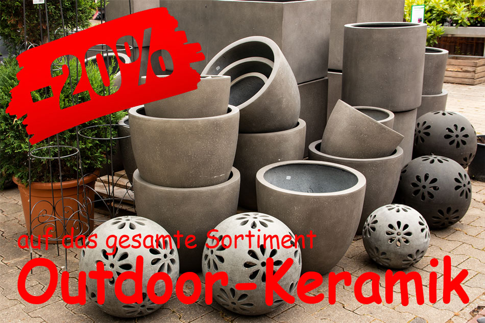 Sale Outdoor-Keramik